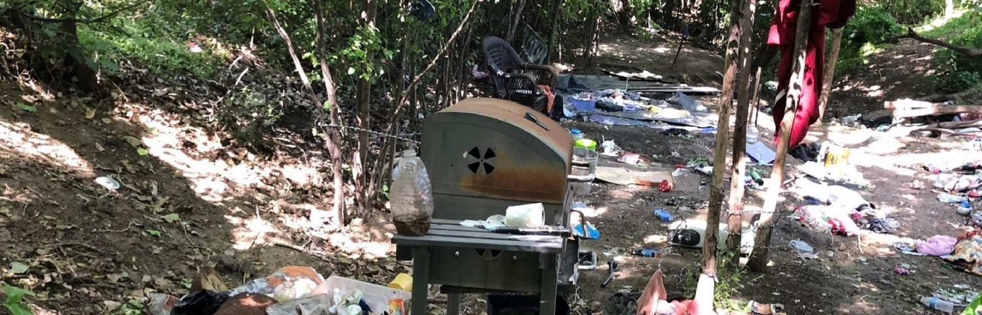 Homeless Camp Cleanup
